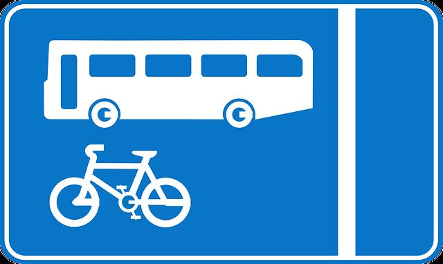 バス通勤と自転車通勤