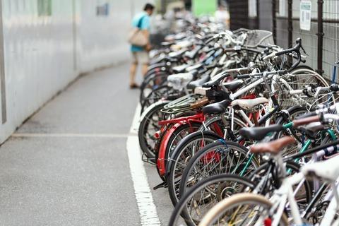 自転車 駐輪場