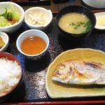 熊本_田崎市場_魚良_タイの塩焼き定食