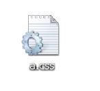 CSSファイルアイコン
